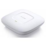 Точка доступа TP-Link EAP120 802.11n/b/g 300Mbps, 2.4GHz, 1x10/100/1000/PoE LAN, потолочная