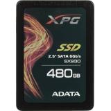 "Жесткий диск SSD 2.5"" SATA III 480Gb A-Data SX930 (7 мм, MLC, R540Mb/W420Mb, 1.5M MTBF) (ASX930SS3-480GM-C)"
