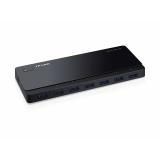 Разветвитель USB 3.0 TP-Link UH700 7порт. черный(UH700)