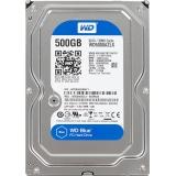 Жесткий диск SATA III 500Gb WD 7200rpm 32Mb (WD5000AZLX) Blue