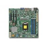 Материнская Плата SuperMicro MBD-X11SSH-LN4F-O Soc-1151 iC236 mATX 4xDDR4 8xSATA3 SATA RAID i210AT 4xGgbEth Ret(MBD-X11SSH-LN4F-O)
