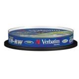Диск CD-RW Verbatim 700Mb 10x Cake Box (10шт) (43480)(43480)