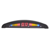 Датчик парковочный Sho-me Y-2616N04 Black 4- датчика (цв.дисплей)