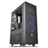 Корпус Thermaltake Core X71 черный без БП ATX 12x120mm 11x140mm 4x200mm 2xUSB2.0 2xUSB3.0 audio bott PSU(CA-1F8-00M1WN)