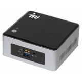 Неттоп IRU NUC 311 i3 7100U (2.4)/4Gb/500Gb/HDG620/CR/Free DOS/GbitEth/WiFi/BT/65W/черный(436817)
