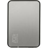 "Корпус внешний для HDD 2.5"" AgeStar 31UB2A8 SATA пластик/алюминий серебристый (31UB2A8(SILVER))"