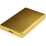 "Корпус внешний для HDD/SSD AgeStar 31UB2A15 SATA алюминий золотистый 2.5""(31UB2A15)"