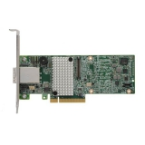 Контроллер SAS/SATA Intel RS3SC008 (PCI-E 3.0 x8, LP) (SGL) 8xSAS 12G/RAID 0,1,5,6,10,50,60/2xSFF8644 (mini SAS HD ext)/1Gb cache, без кабелей (928223)