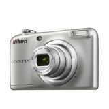 "Фотоаппарат Nikon CoolPix A10 серебристый 16.1Mpix Zoom5x 2.7"" 720p 17Mb SDXC CCD 1x2.3 IS el 10minF/AA (VNA980E1)"