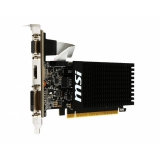 Видеоадаптер PCI-E MSI GeForce GT710 2048Mb GT 710 2GD3H LP (RTL) GDDR3 64bit D-sub/DVI-D/HDMI