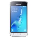 "Смартфон Samsung Galaxy J1 (2016) SM-J120F 8Gb белый моноблок 3G 4G 2Sim 4.5"" 480x800 Android 5.1 5Mpix WiFi BT GPS GSM900/1800 GSM1900 TouchSc MP3 FM microSD max128Gb(SM-J120FZWDSER)"