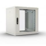 """Шкаф 19"""" настенный 12U 600x520, дверь металл, съемные стенки, серый (ЦМО ШРН-М-12.500.1)"""