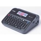 Принтер Brother P-touch PT-D600VP стационарный черный/серый(PTD600VPR1)