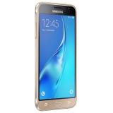"Смартфон Samsung Galaxy J3 (2016) SM-J320F 8Gb золотистый моноблок 3G 4G 2Sim 5.0"" 720x1280 Android 5.0 8Mpix WiFi BT GPS GSM900/1800 GSM1900 TouchSc MP3 FM microSD max128Gb(SM-J320FZDDSER)"