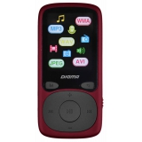 "Плеер Flash Digma B3 8Gb красный/1.8""/FM/microSD(B3RD)"