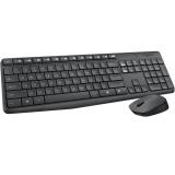 Клавиатура Logitech MK-235 Wireless Combo Desktop Grey (беспр.клав+беспр.мышь) (920-007948)