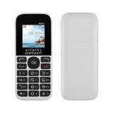"""Мобильный телефон Alcatel 1016D белый моноблок 2Sim 1.8"""" 160x128 GSM900/1800 FM(1016D-3BALRU1)"""