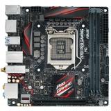 Материнская плата ASUS Z170I PRO GAMING (RTL) S-1151 Z170 2xDDR4 PCI-E x16 2xSATA III/1xSATA Express/1xM.2/RAID 0,1,5,10 PS/2/HDMI/DP/2xUSB 2.0/4xUSB 3.0/2xUSB 3.1/GLAN/S/PDIF/5 audio jacks Mini-ITX