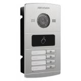 Видеопанель Hikvision DS-KV8402-IM цветной сигнал CMOS цвет панели: серебристый(DS-KV8402-IM)