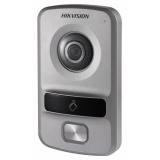 Видеопанель Hikvision DS-KV8102-VP цветной сигнал CMOS цвет панели: серебристый(DS-KV8102-VP)