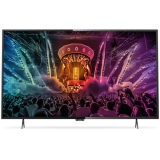 "Телевизор LED Philips 55"" 55PUT6101/60 черный/Ultra HD/800Hz/DVB-T/DVB-T2/DVB-C/USB/WiFi/Smart TV (RUS)(55PUT6101/60)"