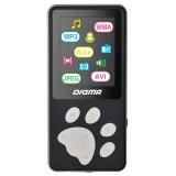 "Плеер Flash Digma S3 4Gb черный/серый/1.8""/FM/microSD(S3BG)"
