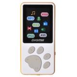 "Плеер Flash Digma S3 4Gb белый/оранжевый/1.8""/FM/microSD(S3WO)"