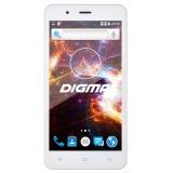 "Смартфон Digma S504 3G Vox 8Gb белый моноблок 3G 2Sim 5"" 480x854 Android 5.1 5Mpix WiFi BT GPS GSM900/1800 GSM1900 TouchSc MP3 VidConf microSD max32Gb(VS5016PG)"