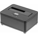 Док-станция для HDD AgeStar 3UBT7 SATA III пластик/алюминий черный 1(3UBT7)