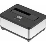 Док-станция для HDD AgeStar 3UBT7 SATA III пластик/алюминий серебристый 1(3UBT7)