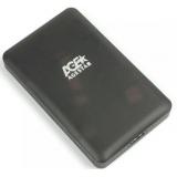 "Корпус внешний для HDD/SSD AgeStar 3UBCP3 SATA пластик черный 2.5""(3UBCP3)"