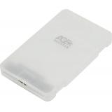 "Корпус внешний для HDD/SSD AgeStar 31UBCP3 SATA пластик белый 2.5""(31UBCP3)"