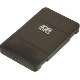 "Корпус внешний для HDD/SSD AgeStar 31UBCP3 SATA пластик черный 2.5""(31UBCP3C)"