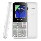 "Мобильный телефон Alcatel 1054D белый моноблок 2Sim 1.8"" 128x160 BT GSM900/1800 GSM1900 FM microSD max32Gb(1054D-3BALRU1)"