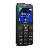 "Мобильный телефон Alcatel Tiger XTM 2008G белый моноблок 2.4"" 240x320 2Mpix BT GSM900/1800 GSM1900 FM microSD max32Gb(2008G-3AALRU1)"