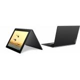"Планшет Lenovo Yoga Book YB1-X90L Atom x5-Z8550 (1.44) 4C/RAM4Gb/ROM64Gb 10.1"" IPS 1920x1200/3G/4G/Android 5.1/черный/8Mpix/2Mpix/BT/GPS/WiFi/Touch/microSD 128Gb/mHDMI/minUSB/8500mAh/13hr/до 1380hrs(ZA0W0172RU)"