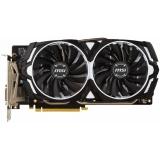 Видеоадаптер PCI-E MSI GeForce GTX1060 3072Mb GTX 1060 ARMOR 3G OCV1 (RTL) GDDR5 192bit DVI-D/2xHDMI/2xDP
