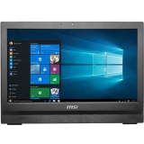 "Моноблок MSI Pro 20 6M-024RU 20"" HD+ P G4400 (3.3)/4Gb/1Tb 7.2k/HDG510/DVDRW/Free DOS/GbitEth/WiFi/BT/120W/клавиатура/мышь/Cam/черный 1600x900(9S6-AA7811-024)"