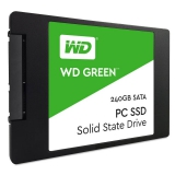 "Жесткий диск SSD 2.5"" SATA III 240Gb WD Green (7 мм, TLC, R540Mb/W465Mb, R37K IOPS/W68K IOPS, 1.7M MTTF) (WDS240G1G0A)"