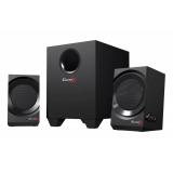 Колонки Creative Sound BlasterX Kratos S3 (2.1) 2x11Вт + 24Вт, дерево, черные