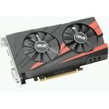 Видеоадаптер PCI-E ASUS GeForce GTX1050 Ti 4096Mb EX-GTX1050TI-4G (RTL) GDDR5 128bit DVI-D/HDMI/DP