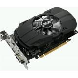 Видеоадаптер PCI-E ASUS GeForce GTX1050 Ti 4096Mb PH-GTX1050TI-4G (RTL) GDDR5 128bit DVI-D/HDMI/DP