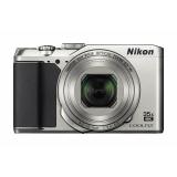 """Фотоаппарат Nikon CoolPix A900 серебристый 20.3Mpix Zoom35x 2.7"""" 4K SDXC CCD 1x2.3 IS el 1minF 30fr/s HDMI/EN-EL12(VNA911E1)"""