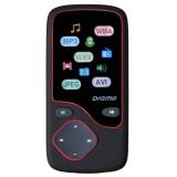 """Плеер Flash Digma Cyber 3L 4Gb черный/красный/1.8""""/FM/microSD/microSDHC(CYB3LB)"""