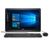 "Моноблок Dell Inspiron 3264 21.5"" Full HD i3 7100U (2.4)/4Gb/1Tb 5.4k/HDG620/DVDRW/CR/Ubuntu/Eth/WiFi/BT/клавиатура/мышь/черный 1920x1080(3264-9883)"
