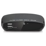 Ресивер DVB-T2 BBK SMP002HDT2 темно-серый()