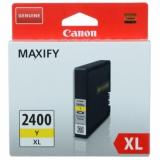 картридж canon pgi-2400xly желтый для canon ib4040/мв5040/5340 (9276b001)
