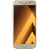 "Смартфон Samsung Galaxy A5 (2017) SM-A520F 32Gb золотистый моноблок 3G 4G 2Sim 5.2"" 1080x1920 Android 5.1 16Mpix 802.11abgnac BT GPS GSM900/1800 GSM1900 TouchSc Ptotect MP3 microSD max256Gb(SM-A520FZDDSER)"
