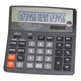 Калькулятор бухгалтерский Citizen SDC-660II черный 16-разр. 2-е питание, 000, 00, TAX, mark up, GT, A023F