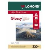 Бумага Lomond A4 230г/м2 25л глянцевая односторонняя фото (0102049)